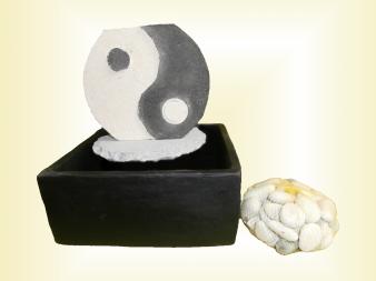 Fontaine ying yang sawadee artisanat artisanat for Meuble ying yang